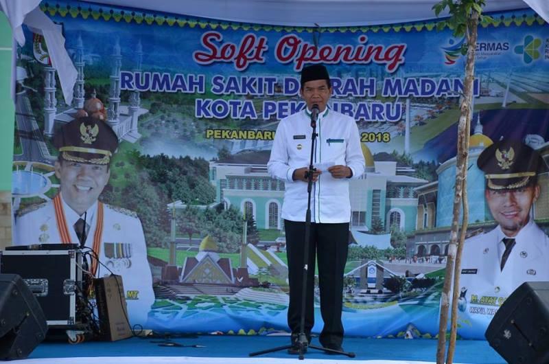 RSD Madani Wujud Perhatian Pemko Pekanbaru Kepada Masyarakat