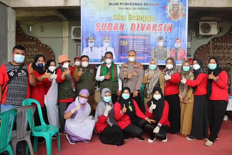 Keseriusan Pemerintah Kabupaten Pelalawan Lawan Covid-19