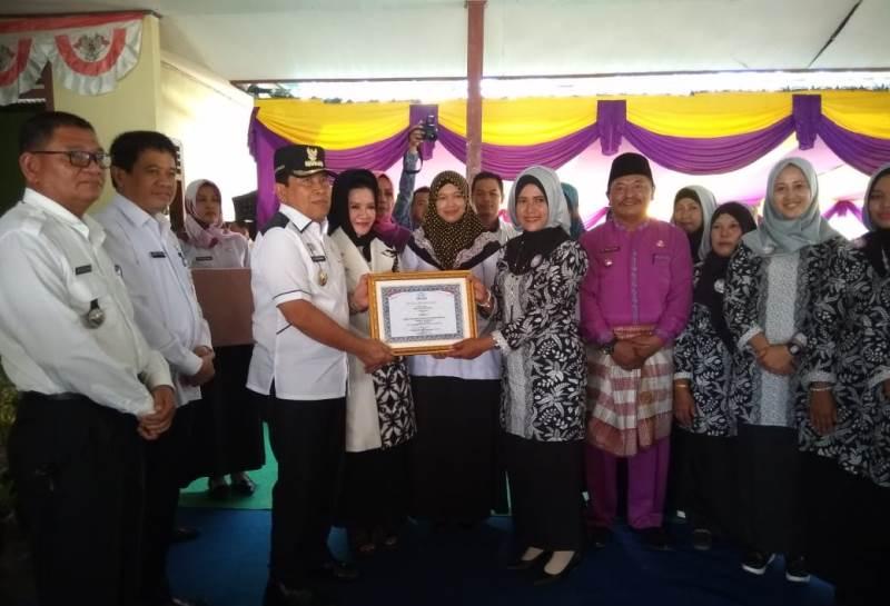 Raih Juara Nasional dan 1 Tingkat Riau, Bupati Rohul Gelar Syukuran Bersama Ratusan Warga Kunto Daru