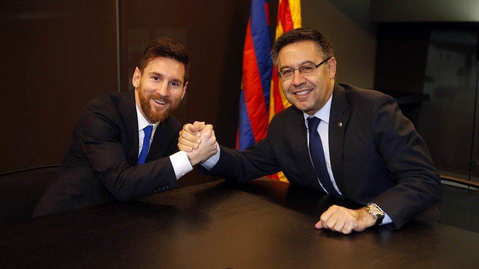 Sah! Lionel Messi Perpanjang Masa Bakti di Barcelona Hingga 2021