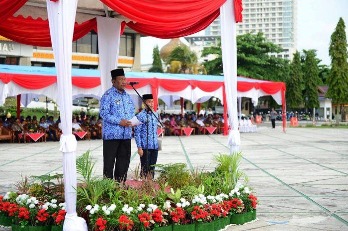 Wagubri Pimpin Upacara Peringatan Hari Bela Negara Tahun 2017