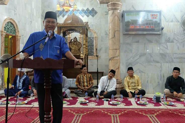 Wabup Inhil Syamsuddin Uti Ajak Masyarakat Jaga Kesatuan dan Persatuan