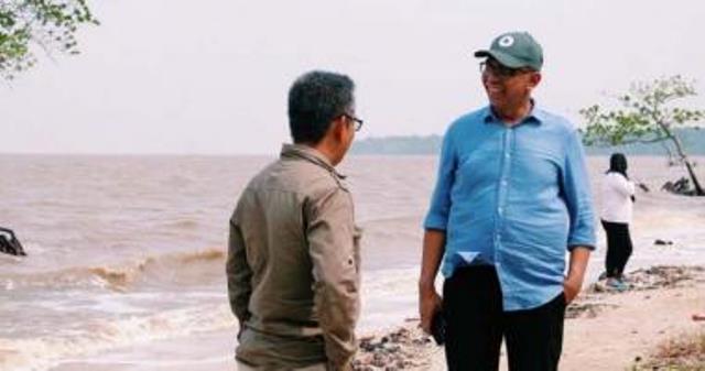 Rudiyanto Terkesima dengan Kemolekan Kawasan Ekowisata Pantai Solop