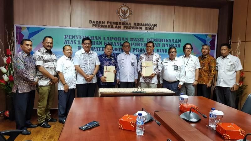 Luar Biasa! Pemkab KepulauanMeranti 7 Kali Raih WTP dan Jadi Penerima LHP BPK RI Pertama di Riau