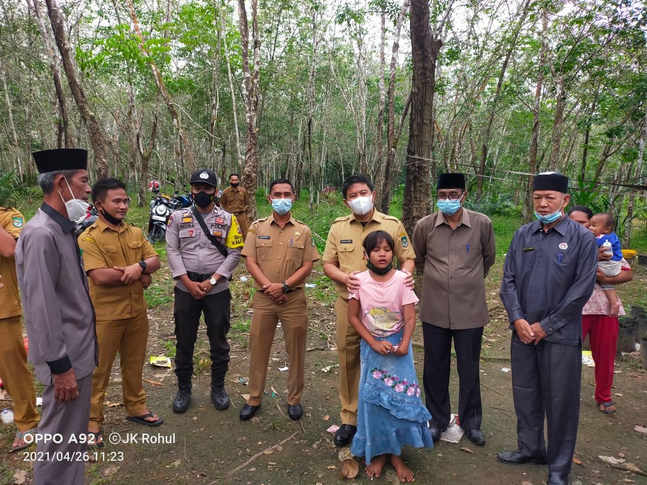 Ucok Suriadi Warga Tidak Mampu Dapat Bantuan Rumah Layak Huni dari Pemda dan Baznas Rohul