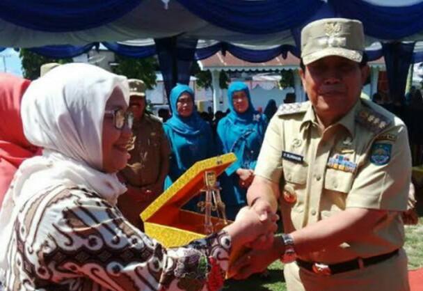 Bupati Rohul Sukiman Optimis Desa Bangun Jaya Terbaik di Indonesia