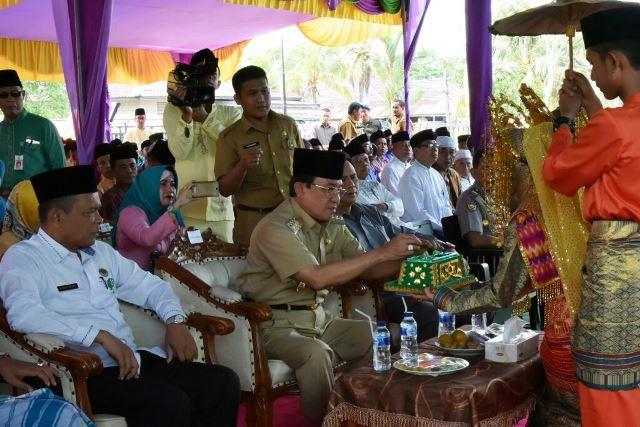 Bupati Wardan Hadiri Peringatan HAB ke-71 Kementerian Agama