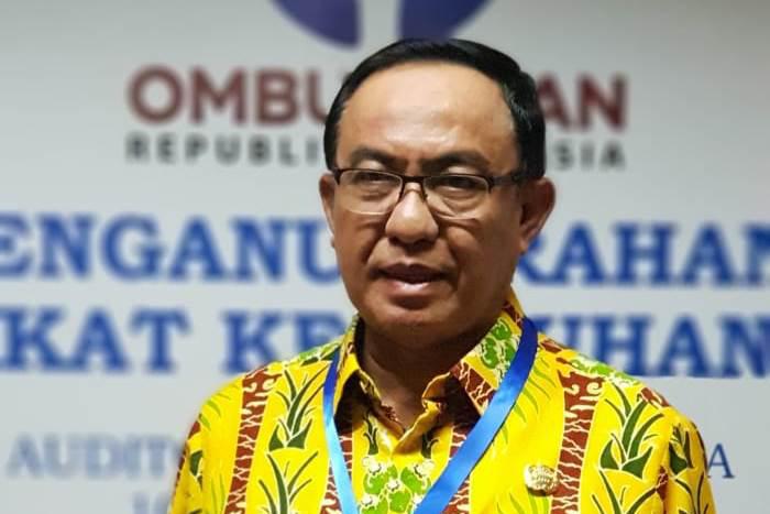 Kabupaten Indragiri Hilir Terima Anugerah Predikat Kepatuhan Tinggi 2018 Ombudsman RI