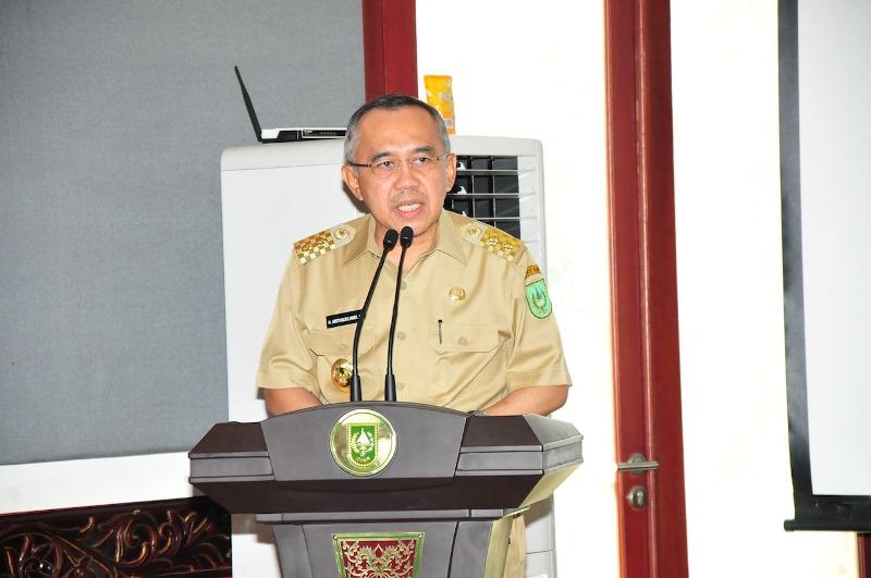 Transparansi Informasi Publik, Pemprov Riau Implementasikan E-Goverment