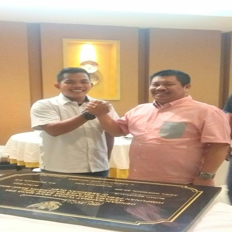 Mahasiswa Sakai Riau ucapkan terima kasih kepada Bupati Bengkalis