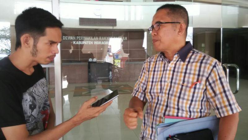 Ketua Komisi I DPRD Inhil Minta Pemdes Berdayakan Bumdes
