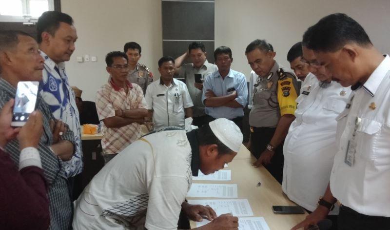 Pemkab Mediasi PT BPLP dengan Kelompok Masyarakat Desa Seberang Sanglar