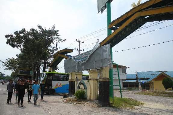 Pujasera Arifin Achmad Terbengkalai, Ini Kesalahan Pemko Pekanbaru