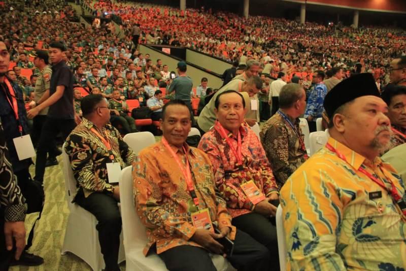Dibuka Presiden Jokowi, Bupati Sukiman Hadiri Rakornas Penanggulangan Bencana 2020 di Bogor