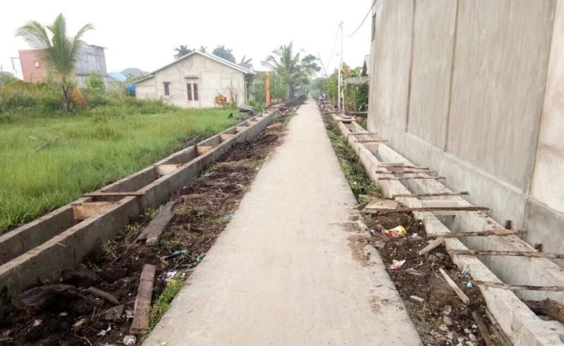 Bupati Inhil Komit Tuntaskan Jalan Rantau Panjang-Tekulai