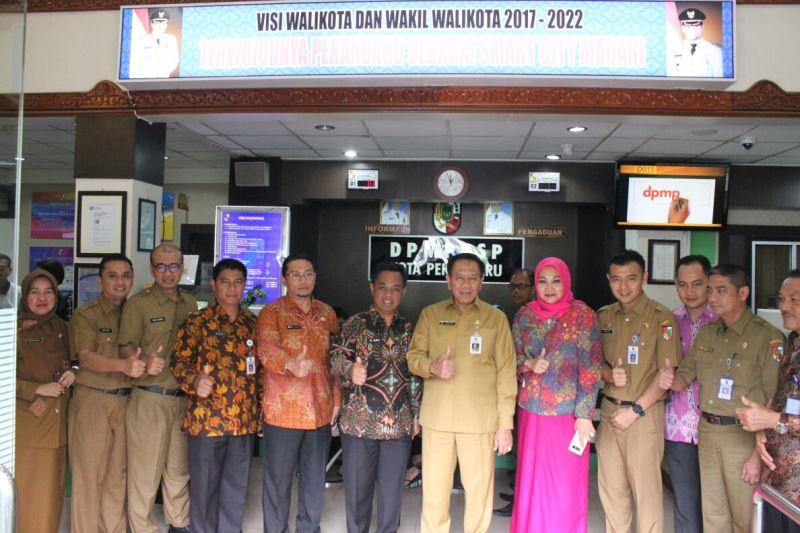 Jadi Rujukan, DPM-PTSP Pekanbaru Termasuk yang Paling Prima di Indonesia