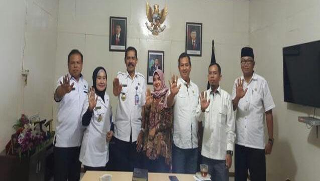 Perjuangkan Pembentukan BNNK, Komisi I DPRD Inhil Koordinasi dengan BNN Riau
