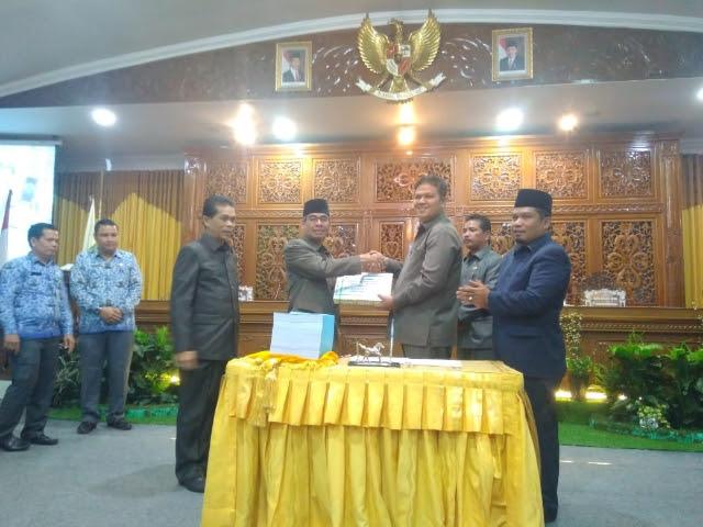 APBD Kuansing Tahun 2019 Sah, DPRD Setujui Pengangkatan 500 Orang Tenaga Honorer