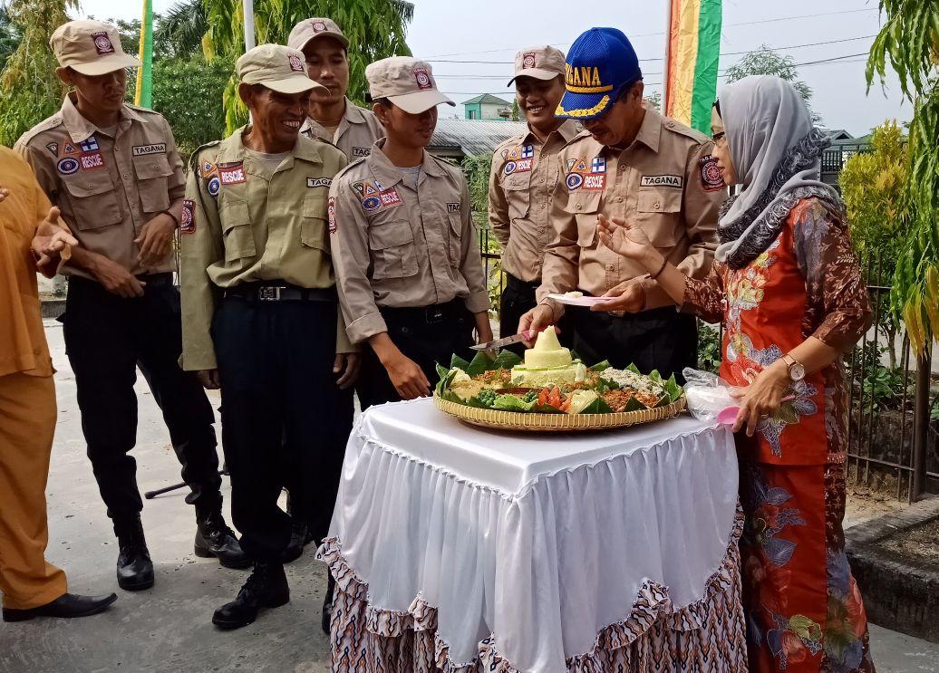 Peringatan 14 Tahun Usia Tagana, Ini Harapan Sekda Kabupaten Inhil