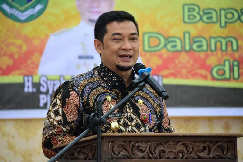 Pj Bupati Bengkalis Syahrial Abdi Kunker ke Kecamatan Mandau