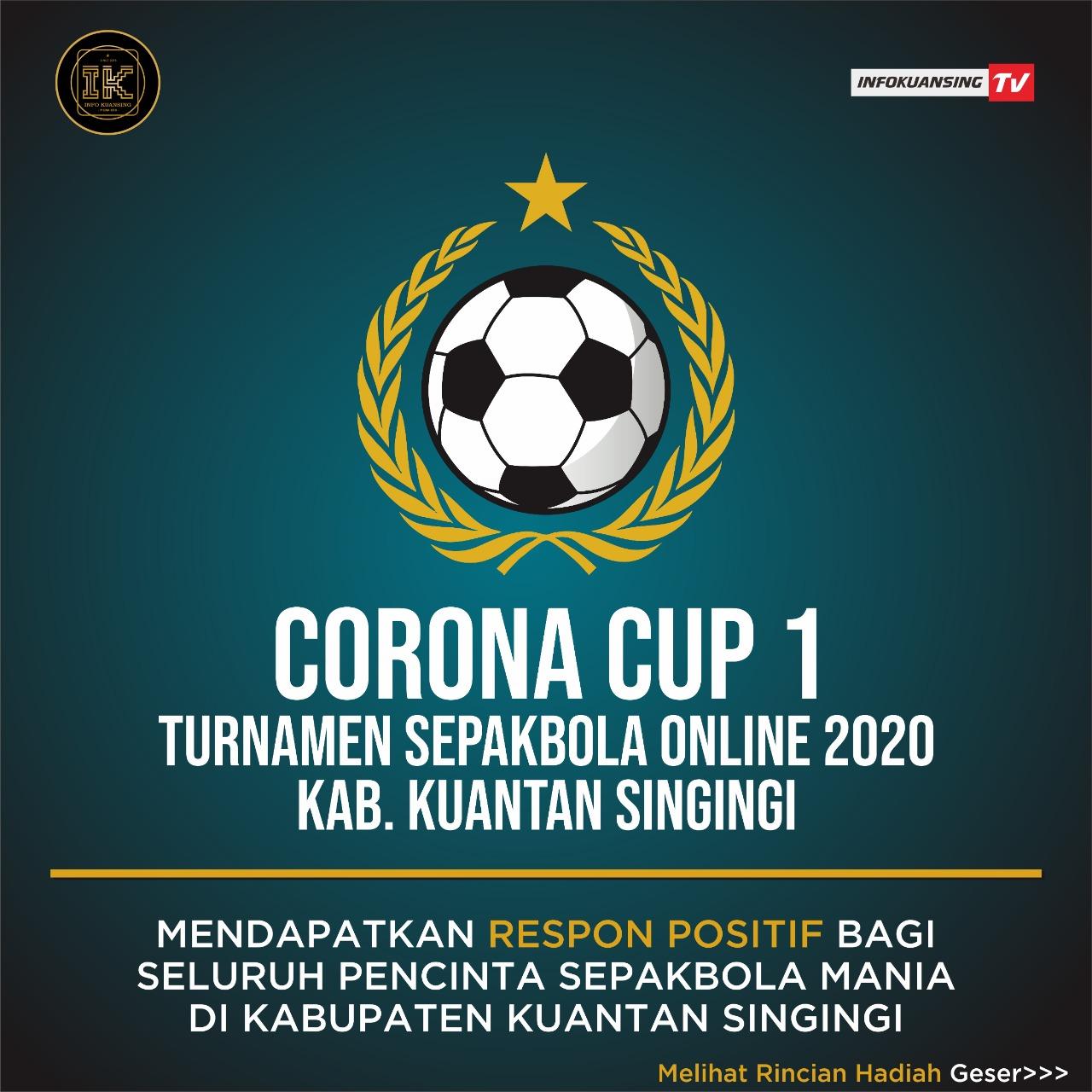 Pelaksanaan Turnamen Sepak Bola Online Infokuansing Tv Mendapatkan Apresiasi Dari Berbagai Pihak