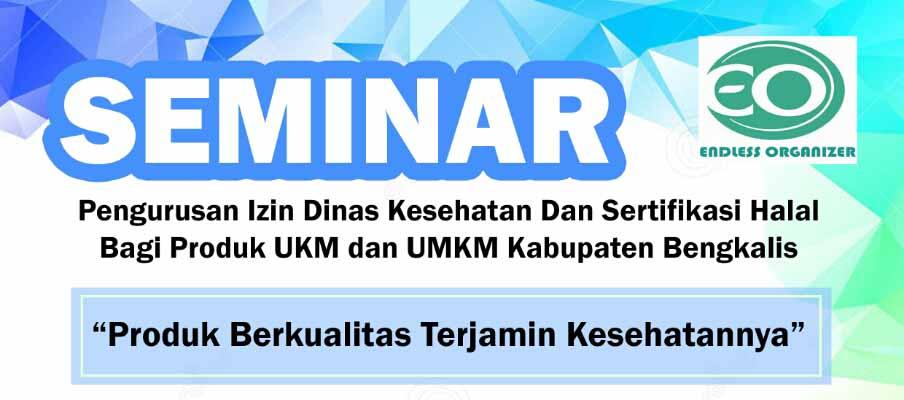 Mahasiswa Politeknik Negeri Bengkalis Taja Seminar Produk Halal