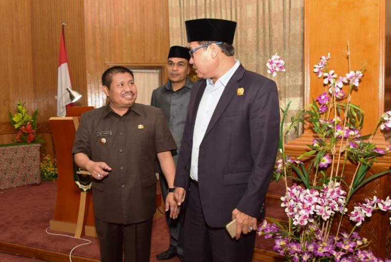 Bupati Amril Larang Kepala OPD Keluar Daerah, Jelang Pengesahan APBD Perubahan 2017
