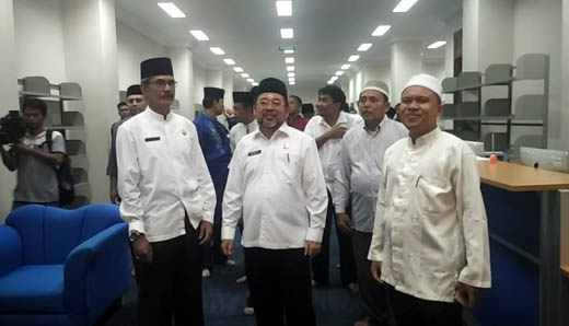 Sekdakab Bengkalis dan Rombongan Kunjungi Masjid Agung Rohul
