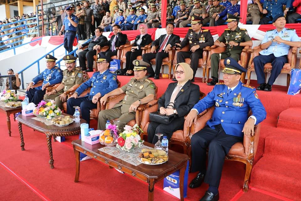 Ribuan Tamu Undangan Kagumi Penampilan Damkar dan Satpol PP Pekanbaru