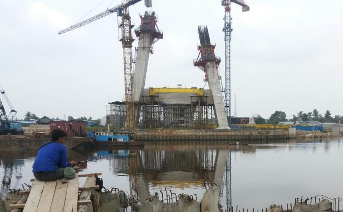 Pembangunan Jembatan Siak IV Dilanjutkan Multiyears, Mulai 2017 Dianggarkan Rp66 M