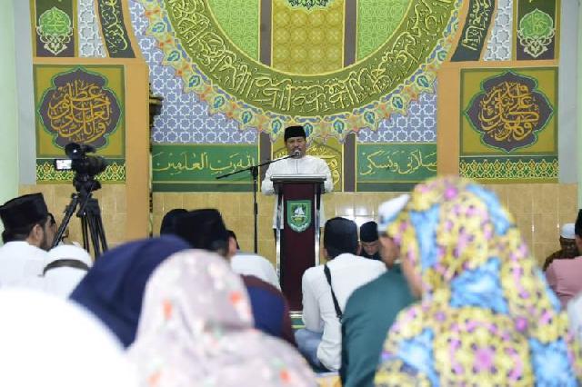 Kegiatan Bupati Bengkalis Selama Ramadhan 1440 H/2019 M