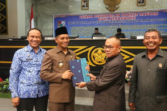 Perda PTSP Kota Pekanbaru Disahkan DPRD