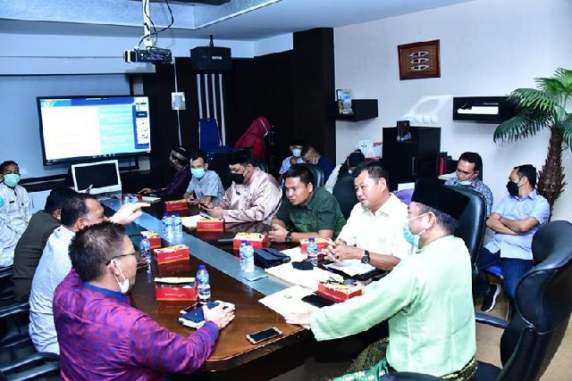 Komisi II DPRD Bengkalis Sambangi Bappedalitbang Riau