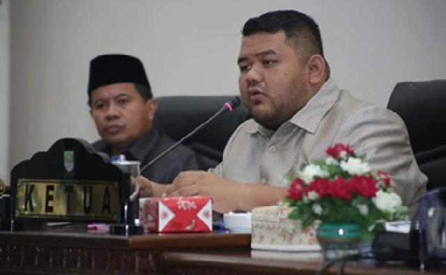 DPRD Rohul Gelar Rapat Paripurna Tentang Pendapat Akhir Fraksi Terhadap Ranperda Rancangan Induk Pengembangan Kepariwisataan