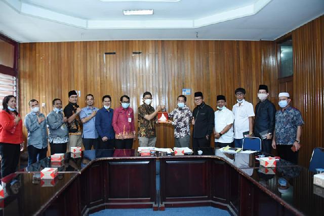 DPRD Bengkalis Kunker ke BK Bukittnggi Terkait Perpres Nomor 33 Tahun 2020